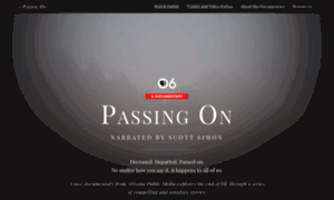 Passing-on.org thumbnail
