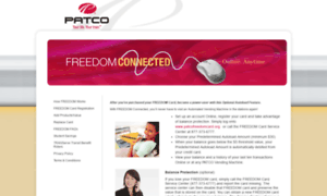 Patcofreedomcard.org thumbnail