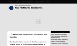 Pawlikowska-jasnorzewska.klp.pl thumbnail