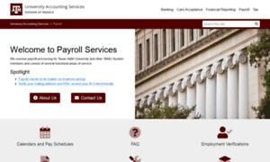 Payroll.tamu.edu thumbnail