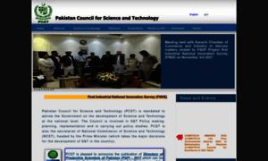 Pcst.org.pk thumbnail