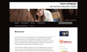 Pedagogie.cssh.qc.ca thumbnail