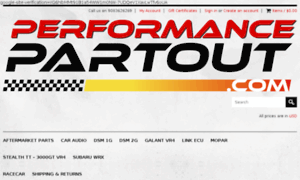 Performancepartout.com thumbnail