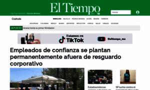 Periodicoeltiempo.mx thumbnail