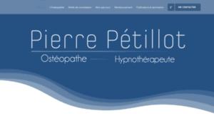 Petillot-osteopathe.fr thumbnail