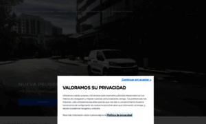 Peugeot.com.mx thumbnail