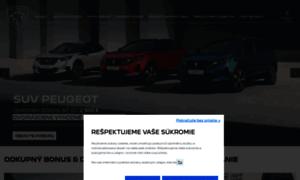 Peugeot.sk thumbnail