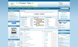 Phpfusion-tips.dk thumbnail