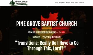 Pinegrovebaptistchurchsm.org thumbnail