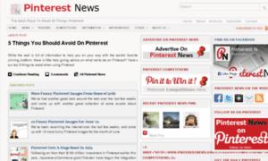 Pinterest-news.net thumbnail