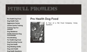 Pitbullproblems.info thumbnail