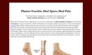 Plantar-fasciitis.org thumbnail