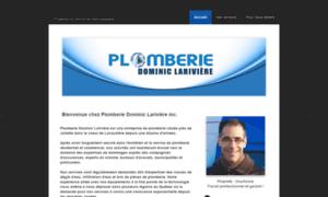 Plomberielariviere.com thumbnail