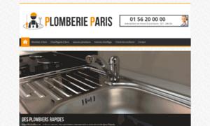 Plomberieparis.fr thumbnail