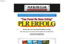 Plr-elite-club.de thumbnail