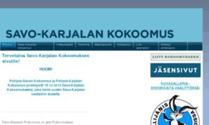 Pohjois-karjalankokoomus.fi thumbnail