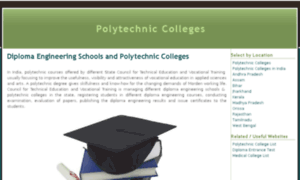 Polytechniccolleges.in thumbnail