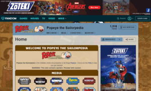Popeye.wikia.com thumbnail
