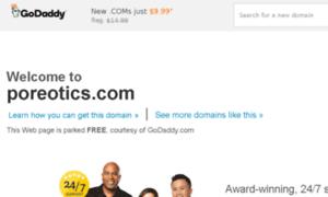 Poreotics.com thumbnail
