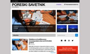 Poreskisavetnikkv.rs thumbnail