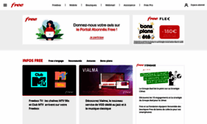 Portail.free.fr thumbnail