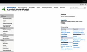 Portal.asmildkloster.dk thumbnail