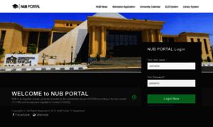 Portal.nub.edu.eg thumbnail