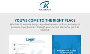 Portfolio.rbsoftech.com thumbnail