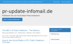 Pr-update-infomail.de thumbnail