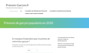 Prenom-garcon.fr thumbnail