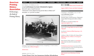 Printinghistory.org thumbnail
