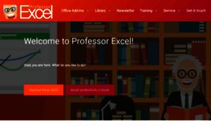 Professor-excel.com thumbnail