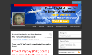 project payday scam Read my project payday review to find out if it's a scam or a legit way of earning money online do not join ppd before you read this.