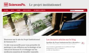 Projet-institutionnel.sciences-po.fr thumbnail