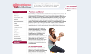 Psykiska-sjukdomar.se thumbnail