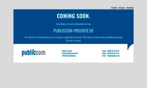 Publiccom-projekte.de thumbnail