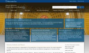 Publicrecordsboard.wi.gov thumbnail