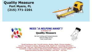 quality measure Definition of quality measure: quality assurance and quality control are two very closely related concepts and because of that close relationship they are.