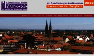 Quedlinburger-musiksommer.de thumbnail