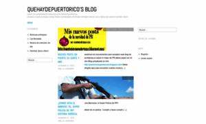 Quehaydepuertorico.wordpress.com thumbnail