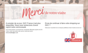 Qvc.fr thumbnail