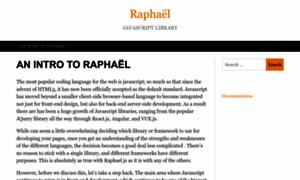 Raphaeljs.com thumbnail