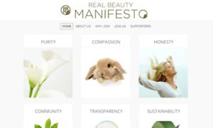 Realbeautymanifesto.org thumbnail
