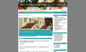 Recherches.gov.mg thumbnail