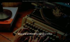 Recommendationletters.pro thumbnail