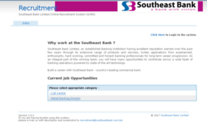 southeast bank limited an overview Learn about working at southeast bank join linkedin today for free see who you know at southeast bank, leverage your professional network, and get hired.