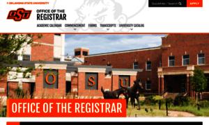 Registrar.okstate.edu thumbnail