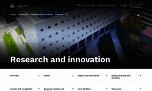 Research.uottawa.ca thumbnail