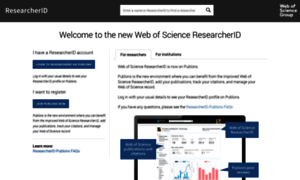 Researcherid.com thumbnail