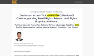 Resellrightsmastery.com thumbnail